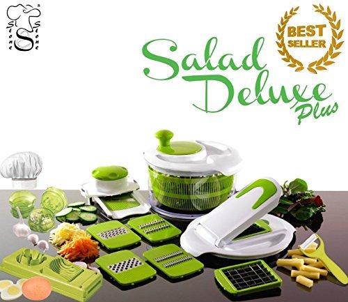 Saladier-Coupe-Lgumes-Trancheuse-Essoreuse-pour-salade-Robot-de-cuisine-Hacheur-dail-Coupe-Oeuf-Eplucheur-de-Pommes-de-Terre-en-Cramique-fabriqu-par-stonestone-0