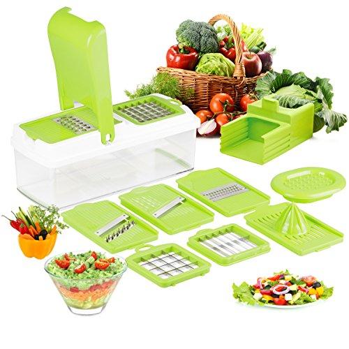 Duomishu-Mandoline-multifonction-9-en-1-professionnelle-couteau-de-cuisine-couper-hacher-pour-legumes-fruits-coupe-rapidement-et-uniformment-facile–nettoyer-vert-0