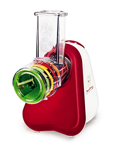 Moulinex-DJ755G32-Robot-Fresh-Express-Plus-5-cnes-Rouge-Rubis-0