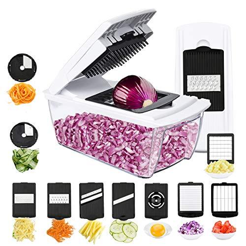 TATUFY-Mandoline-Cuisine-10-en-1-Coupe-Fruits-Coupe-lgumes-Coupe-lgumes-Muti-Cutter-avec-insertions-de-Couteaux-Gant-pour-Couper-en-dsmincergratinermincerCouperrperCourse-dufs-0