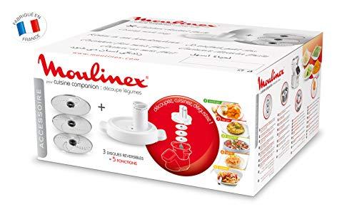 Moulinex-Dcoupe-Lgumes-XF383110-Accessoire-Companion-Officiel-Rpe-Tranche-Compatible-avec-Tous-les-Robots-Cuisine-Companion-0